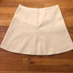 White J.Crew Aline skirt